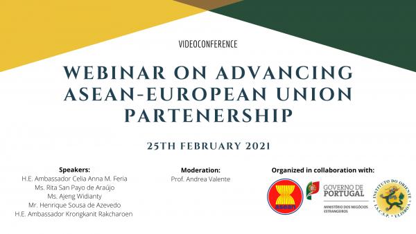 Webinar on Advancing ASEAN-European Union Partenership