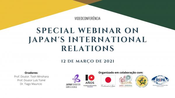 Webinar on Japan´s International Relations