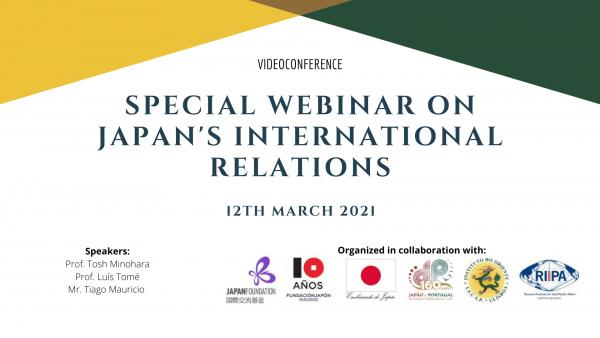 Special Webinar on Japan´s International Relations